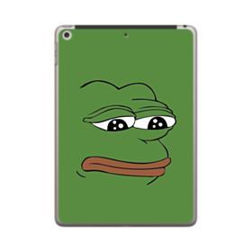Sad Pepe frog iPad 9.7 (2018) Case