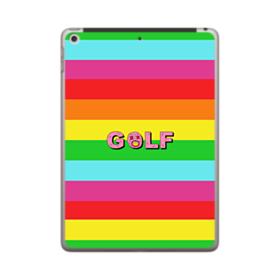 Golf Rainbow iPad 9.7 (2018) Case