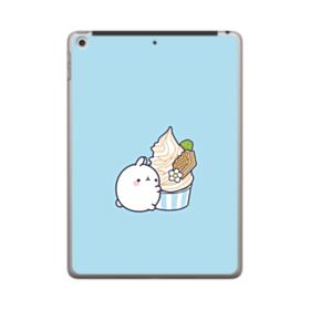 Molang Ice Cream iPad 9.7 (2018) Clear Case