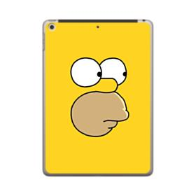 The Simpsons Face iPad 9.7 (2018) Clear Case