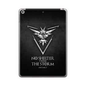 No Shelter From The Storm iPad 9.7 (2018) Clear Case