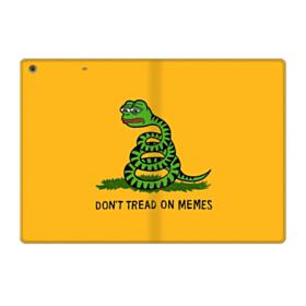 Pepe the frog don't tread on memes iPad 9.7 (2018) Folio Case