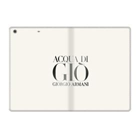 Giorgio Armani Acqua Di Gio Bottle iPad 9.7 (2018) Folio Case