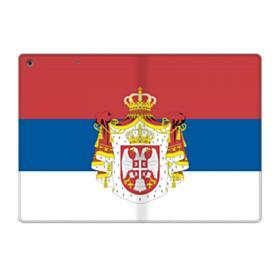 Flag of Serbia iPad 9.7 (2018) Folio Case
