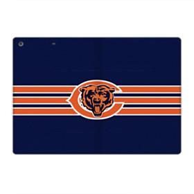 Chicago Bears Stripes iPad 9.7 (2018) Folio Case