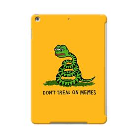 Pepe the frog don't tread on memes iPad Air Case