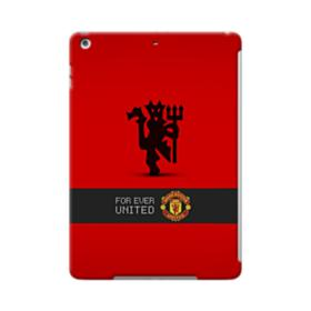 Manchester United Team Logo Red Devil Banner iPad Air Case