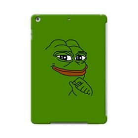 Smug Pepe Frog Funny Meme iPad Air Case