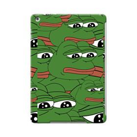 Sad Pepe frog seamless iPad Air Case