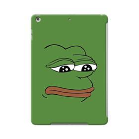 Sad Pepe frog iPad Air Case
