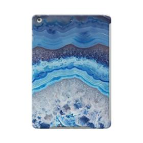 Blue Lace Agate Slice iPad Air Case