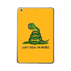 Pepe the frog don't tread on memes iPad Air (2019) Clear Case