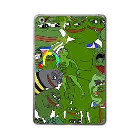 Rare pepe the frog seamless iPad Air (2019) Clear Case
