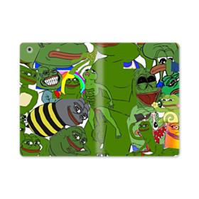 Rare pepe the frog seamless iPad Air (2019) Folio Case