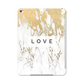 White Gold Marble iPad Air 2 Case