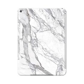White & Grey Marble iPad Air 2 Case