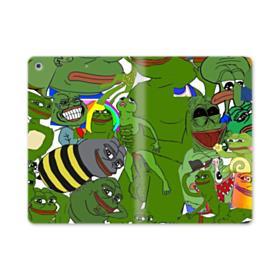 Rare pepe the frog seamless iPad mini (2019) Folio Case
