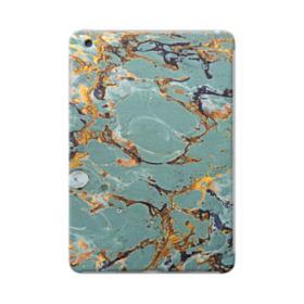 Blue & Gold Marble iPad mini 3/2/1 Case