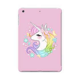 Purple Glitter Unicorn iPad Mini Case