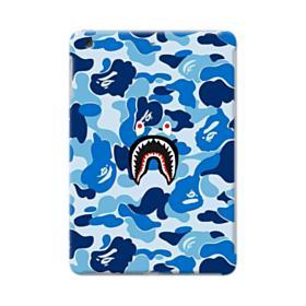 Bape Shark Blue Camo iPad mini 3/2/1 Case