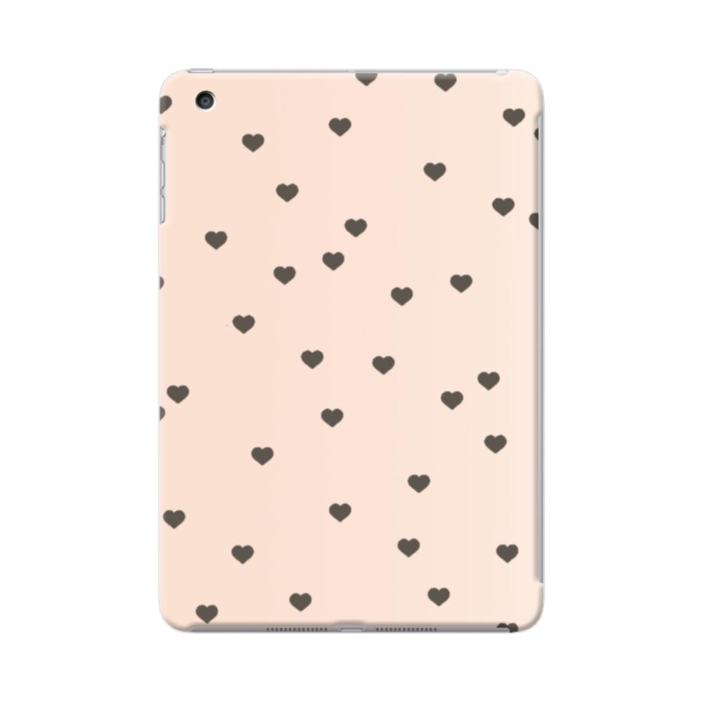 4cec268553 Heart Pattern Pink iPad mini 4 Case | CaseFormula