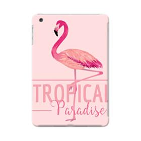 Tropical Bird Flamingo Drawing iPad mini 4 Case