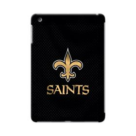 New Orleans Saints Team Logo Dots Black iPad mini 4 Case