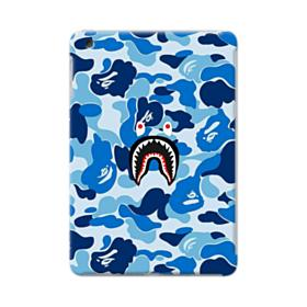 Bape Shark Blue Camo iPad mini 4 Case