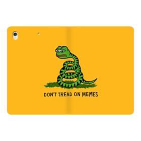 Pepe the frog don't tread on memes iPad Pro 10.5 (2017) Folio Case