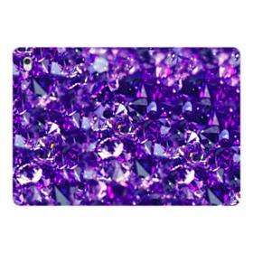 Purple Diamond Glitter iPad Pro 10.5 (2017) Folio Case