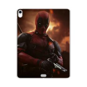 Deadpool Portrait iPad Pro 11.0 (2018) Clear Case