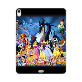 Disney Animated Cartoon Characters iPad Pro 11.0 (2018) Clear Case
