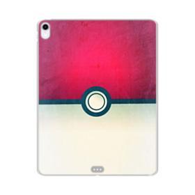 Pokeball Minimalist Grunge iPad Pro 11.0 (2018) Clear Case