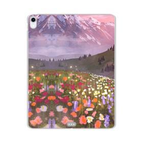 Snow Mountain Garden iPad Pro 11.0 (2018) Clear Case