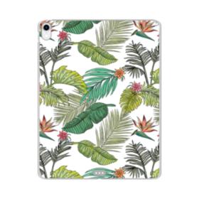 Jungle Leaves iPad Pro 11.0 (2018) Clear Case