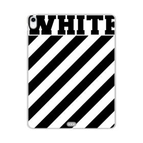 White Expansion iPad Pro 11.0 (2018) Clear Case