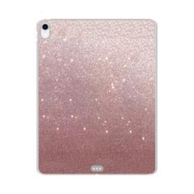 Rose Gold Glitter iPad Pro 11.0 (2018) Clear Case