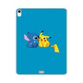 Stitch X Pikachu iPad Pro 11.0 (2018) Clear Case