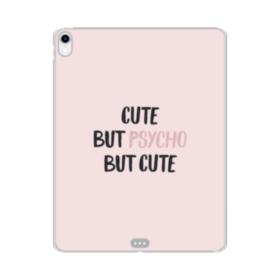 Cute But Psycho But Cute iPad Pro 11.0 (2018) Clear Case