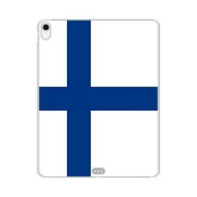Flag of Finland iPad Pro 11.0 (2018) Clear Case