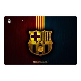 FC Barcelona Logo Grunge iPad Pro 12.9 (2017) Folio Case