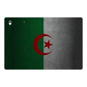 Flag of Algeria Leather Texture iPad Pro 12.9 (2017) Folio Case