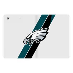 Philadelphia Eagles Team Logo Diagonal Stripes iPad Pro 12.9 (2017) Folio Case