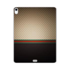 Gucci Pattern iPad Pro 12.9 (2018) Clear Case