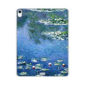 Water Lilies Claude Monet iPad Pro 12.9 (2018) Clear Case