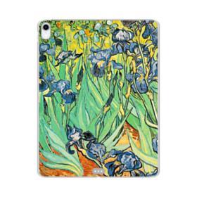 Irises Vincent Van Gogh iPad Pro 12.9 (2018) Clear Case