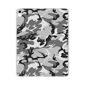 Air Force Gray Camo iPad Pro 12.9 (2018) Clear Case