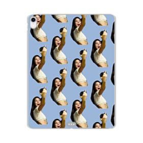 Kendall Jenner funny  iPad Pro 12.9 (2018) Clear Case