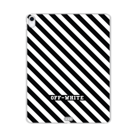 Off White Stripes iPad Pro 12.9 (2018) Clear Case