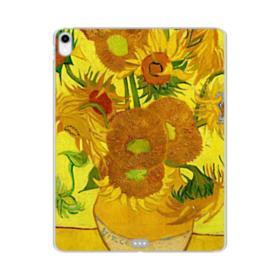 Sunflowers Vincent van Gogh iPad Pro 12.9 (2018) Clear Case